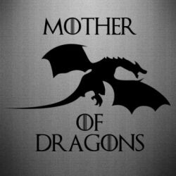 Наклейка Mother Of Dragons