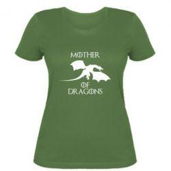 Женская футболка Mother Of Dragons - FatLine