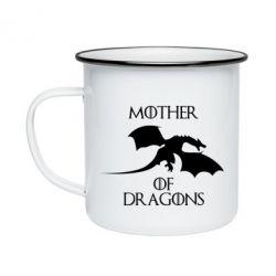 Кружка емальована Mother Of Dragons