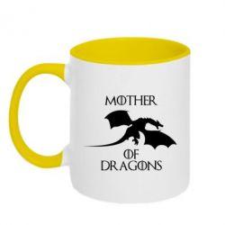 Кружка двухцветная Mother Of Dragons - FatLine