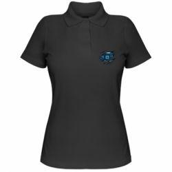 Жіноча футболка поло Motherboard through the T-Shirt