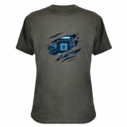 Камуфляжна футболка Motherboard through the T-Shirt