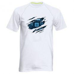 Чоловіча спортивна футболка Motherboard through the T-Shirt