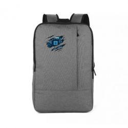 Рюкзак для ноутбука Motherboard through the T-Shirt