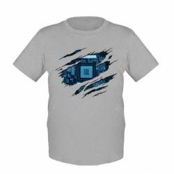 Дитяча футболка Motherboard through the T-Shirt