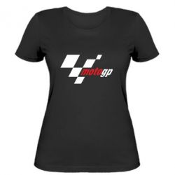 Жіноча футболка MOTO GP - FatLine