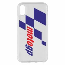 Чехол для iPhone X/Xs MOTO GP