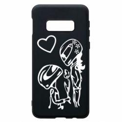 Чехол для Samsung S10e MOTO LOVE