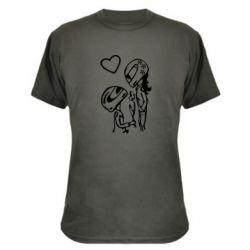 Камуфляжна футболка MOTO LOVE - FatLine