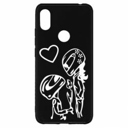 Чехол для Xiaomi Redmi S2 MOTO LOVE