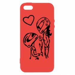 Чехол для iPhone5/5S/SE MOTO LOVE