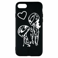 Чехол для iPhone 7 MOTO LOVE