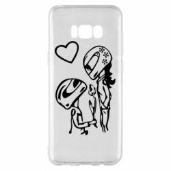 Чехол для Samsung S8+ MOTO LOVE