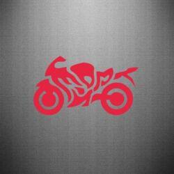 Наклейка MOTO SPORT - FatLine