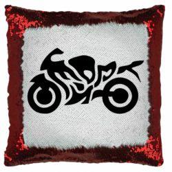 Подушка-хамелеон MOTO SPORT