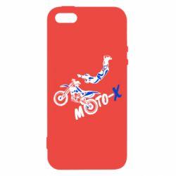 Чехол для iPhone5/5S/SE Moto-X