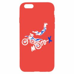 Чехол для iPhone 6/6S Moto-X