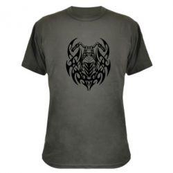 Камуфляжная футболка Мотоцикл с кельтами - FatLine