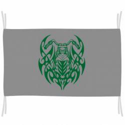 Флаг Мотоцикл с кельтами