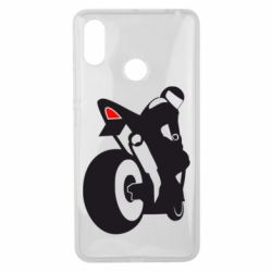 Чохол для Xiaomi Mi Max 3 Мотоцикліст на спорті