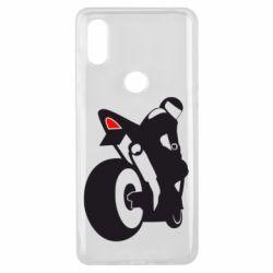 Чохол для Xiaomi Mi Mix 3 Мотоцикліст на спорті