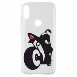 Чохол для Xiaomi Mi Play Мотоцикліст на спорті