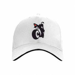 кепка Мотоциклист на спорте - FatLine