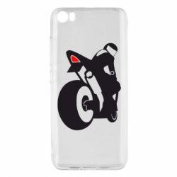 Чохол для Xiaomi Mi5/Mi5 Pro Мотоцикліст на спорті