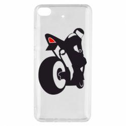 Чохол для Xiaomi Mi 5s Мотоцикліст на спорті