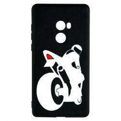 Чохол для Xiaomi Mi Mix 2 Мотоцикліст на спорті