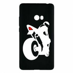 Чохол для Xiaomi Mi Note 2 Мотоцикліст на спорті