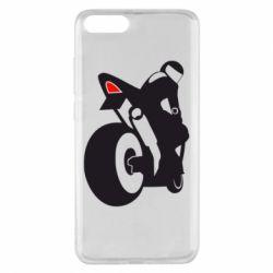 Чохол для Xiaomi Mi Note 3 Мотоцикліст на спорті
