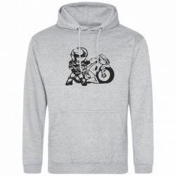 Толстовка Мотоциклист - FatLine