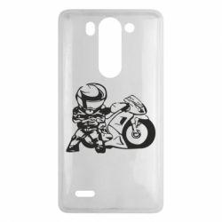 Чехол для LG G3 mini/G3s Мотоциклист - FatLine