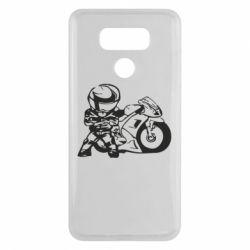 Чехол для LG G6 Мотоциклист - FatLine