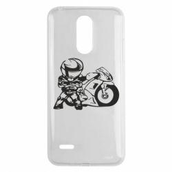 Чехол для LG K8 2017 Мотоциклист - FatLine