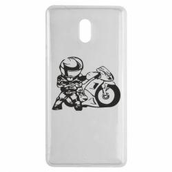 Чехол для Nokia 3 Мотоциклист - FatLine