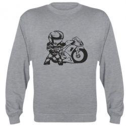 Реглан (свитшот) Мотоциклист - FatLine