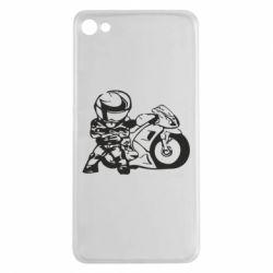 Чехол для Meizu U20 Мотоциклист - FatLine
