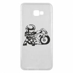 Чехол для Samsung J4 Plus 2018 Мотоциклист - FatLine