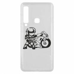 Чехол для Samsung A9 2018 Мотоциклист - FatLine
