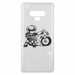 Чехол для Samsung Note 9 Мотоциклист - FatLine