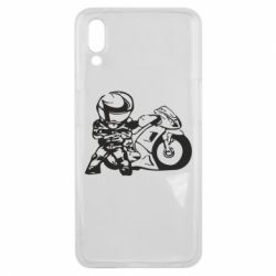 Чехол для Meizu E3 Мотоциклист - FatLine