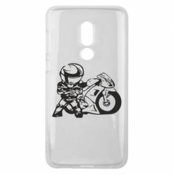 Чехол для Meizu V8 Мотоциклист - FatLine