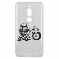 Чехол для Meizu V8 Pro Мотоциклист - FatLine