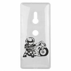 Чехол для Sony Xperia XZ3 Мотоциклист - FatLine