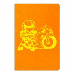 Блокнот А5 Мотоциклист - FatLine