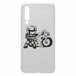 Чехол для Xiaomi Mi9 Мотоциклист