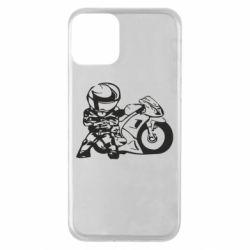 Чехол для iPhone 11 Мотоциклист