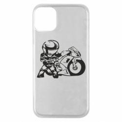 Чехол для iPhone 11 Pro Мотоциклист
